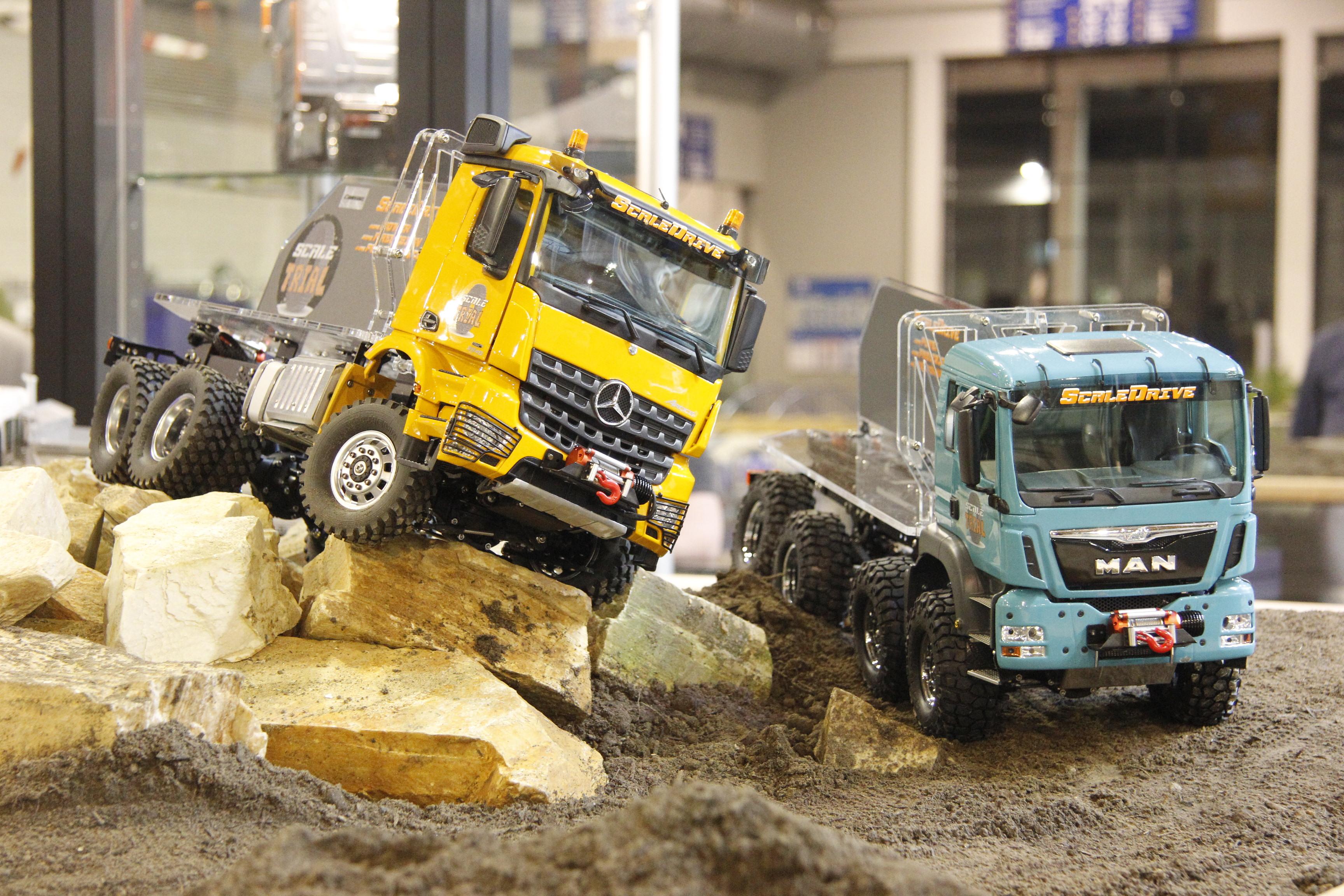 ScaleTrial-Vorführstandmodelle in Friedrichshafen